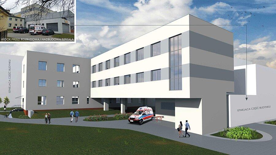 Podpisaliśmy kontrakt na rozbudowę szpitala powiatowego w Jarocinie