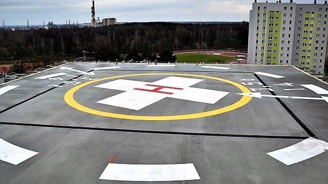 Zakończyliśmy kolejną realizację lądowiska na dachu szpitala