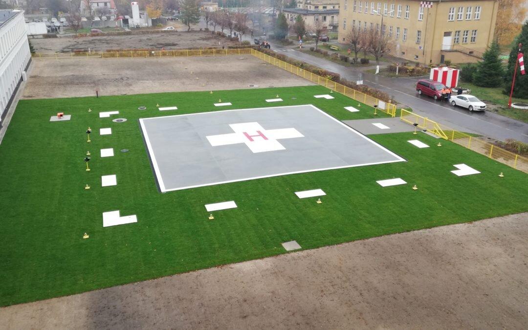 Realizujemy budowę lądowiska w Łapach