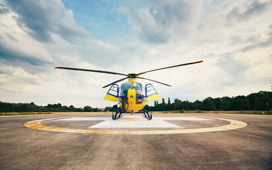 We are rebuilding the heliport in Rybnik