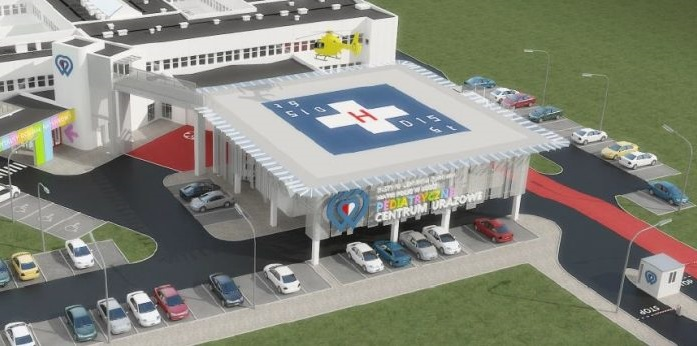We are starting the construction of a landing pad at the Polish Mother's Health Center in Łódź