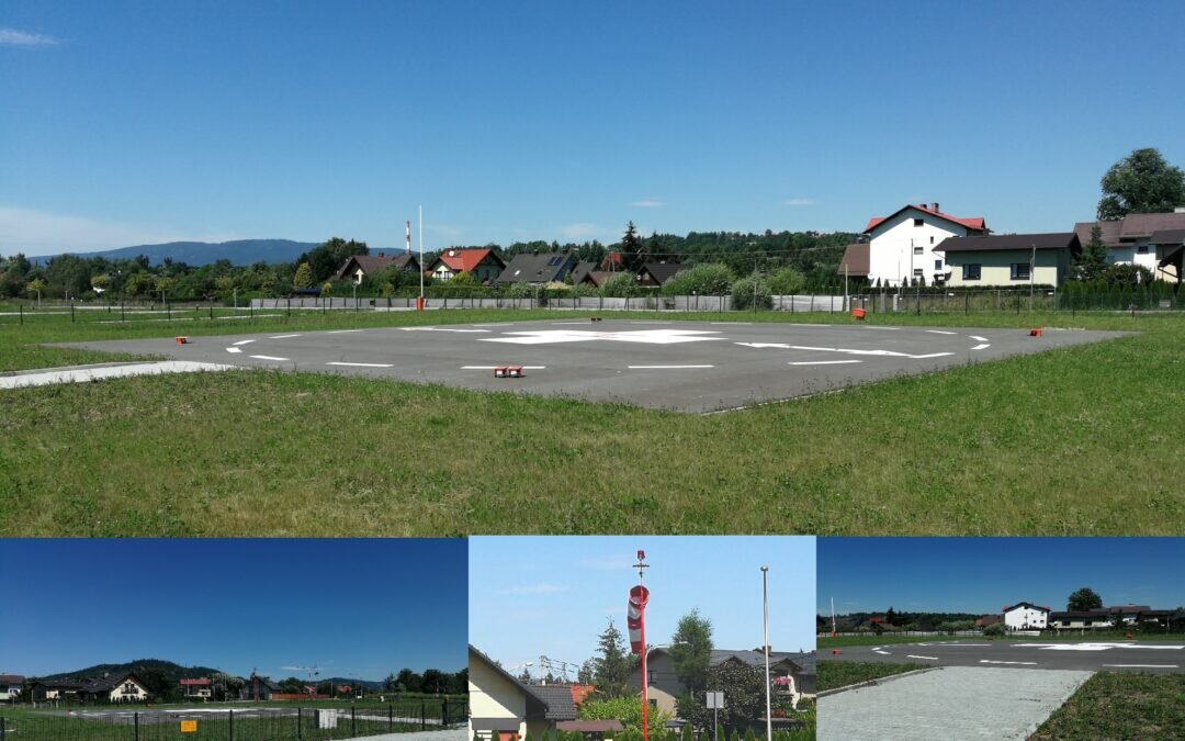 We have completed the construction of another helipad