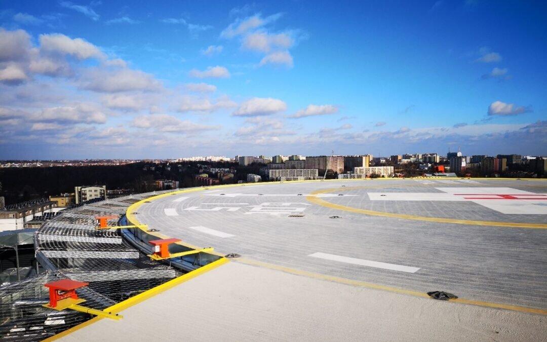 Budujemy lądowisko dla śmigłowców na Szpitalu Klinicznym nr 1 w Lublinie