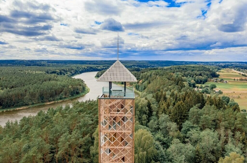 We are building observation towers in the Suwałki Landscape Park