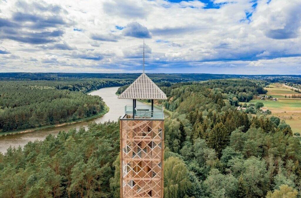 Budujemy wieże widokowe w Suwalskim Parku Krajobrazowym